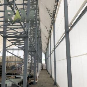 Corturi mari, cu deschideri de peste 18 metri